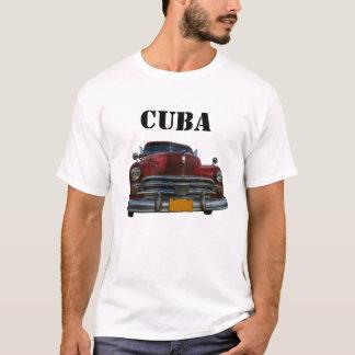 T-shirt Voiture américaine classique dans Vinales, Cuba