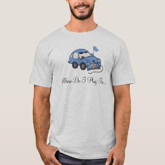 T-shirt Voiture électrique - où branche-t-je ?