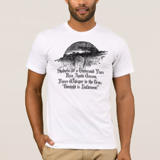 T-shirt Voix de cimetière