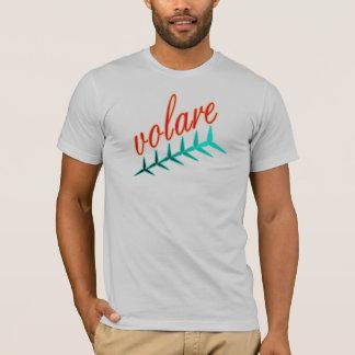 T-shirt Vol de propulseur d'appui vertical de mouche de