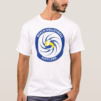 T-shirt Volleyball de plage Ecosse