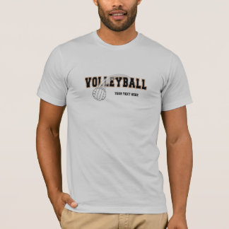 T-shirt Volleyball (personnalisable)