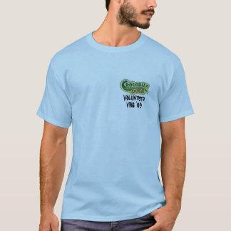 T-shirt Volontaire de dock de crocodile d'école de bible