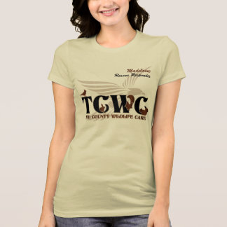 T-shirt Volontaire de logo de TCWC - spécialiste fait sur