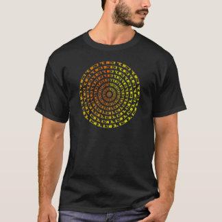 T-shirt Vortex binaire psychédélique