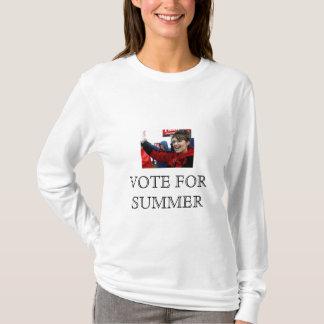 T-shirt VOTE de Sara Palin POUR l'ÉTÉ (dynamite de