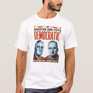 T-shirt Vote Democratic