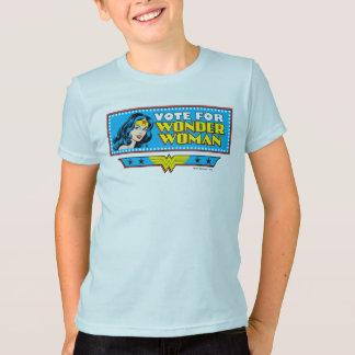 T-shirt Vote pour la femme de merveille