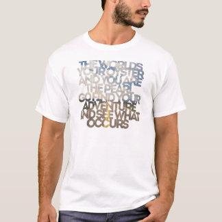 T-shirt Votre huître du monde