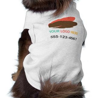 T-shirt Votre logo ici choient le marketing promotionnel d