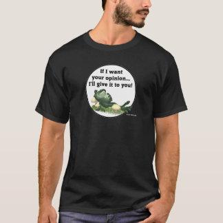 T-shirt Voulez l'opinion