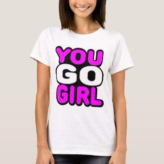 T-shirt Vous allez fille