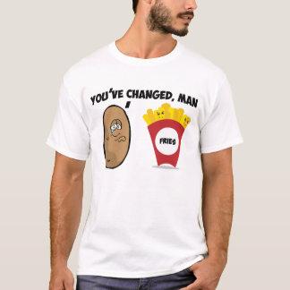 T-shirt Vous avez changé, l'homme (la pomme de terre aux