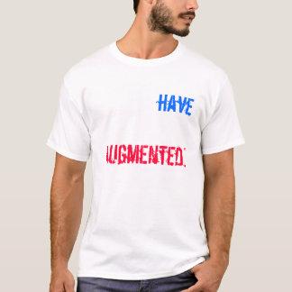 """T-shirt """"Vous, avez, été, augmenté. """", - le Metaver…"""