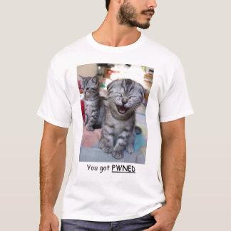 T-shirt Vous avez obtenu Pwned