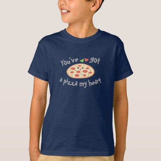 T-shirt Vous avez une pizza mon calembour drôle mignon