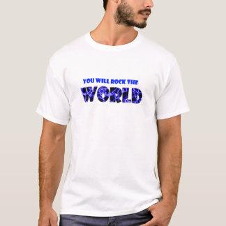 T-shirt Vous basculerez le monde