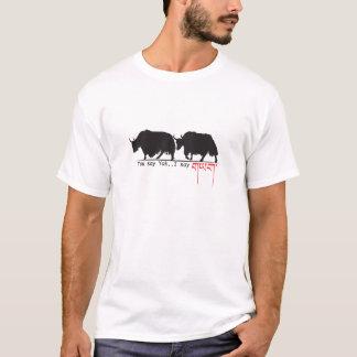 T-shirt Vous dites des yaks. Je dis.
