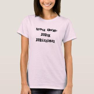 T-shirt Vous êtes mon subordonné