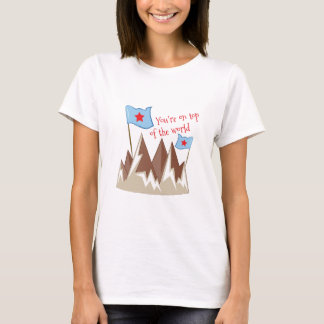 T-shirt Vous êtes sur le dessus
