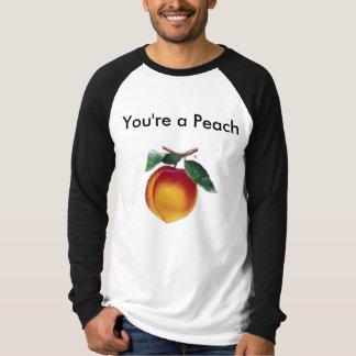 T-shirt Vous êtes une pêche