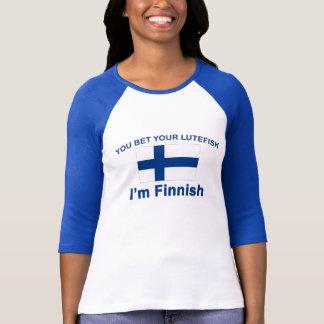 T-shirt Vous pariez votre Lutefisk que je suis finlandais