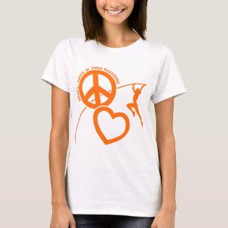 T-SHIRT VOÛTE DE PEACE-LOVE-POLE