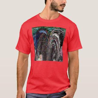 T-shirt Voûtes en verre souillé