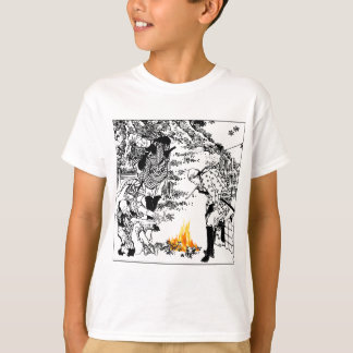 T-shirt Voyageurs de Hokusai