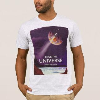 T-shirt Voyagez l'affiche vintage de la science-fiction
