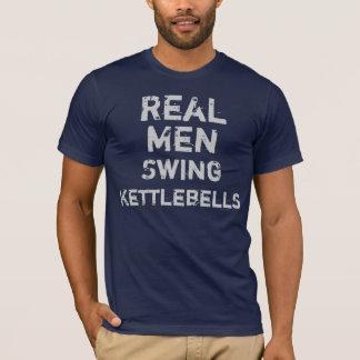 T-shirt Vraie oscillation Kettlebells d'hommes