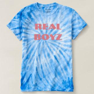 T-shirt Vraie pièce en t de colorant de cravate de Boyz