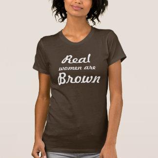 T-shirt Vraiment brun