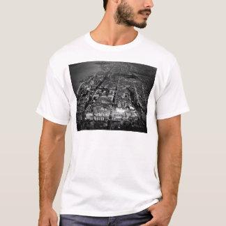 T-shirt Vue aérienne 1928 de New York City de côté Ouest