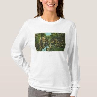 T-shirt Vue d'abîme d'Ausable