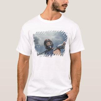 T-shirt Vue d'angle faible du joueur 2 de jai-alai