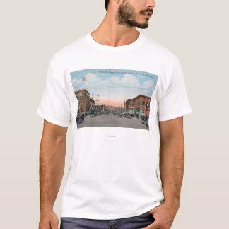 T-shirt Vue d'avenue de Wenatchee d'avenue d'Orondo