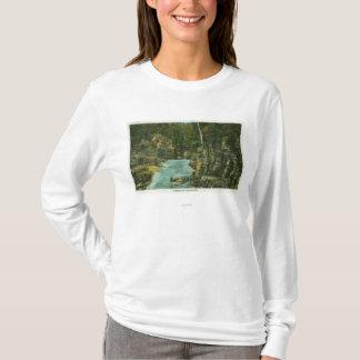 T-shirt Vue de bateau recherchant la rapide