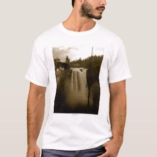 T-shirt Vue de cascade