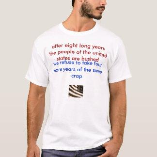 T-shirt VUE DE CÔTÉ, après huit longues années les