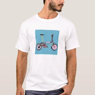 T-shirt Vue de côté BluePink de Brompton