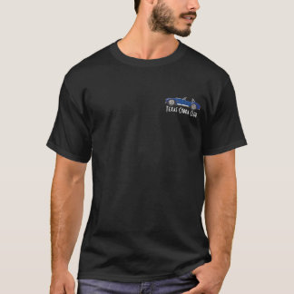 T-shirt Vue de côté, club de cobra du Texas