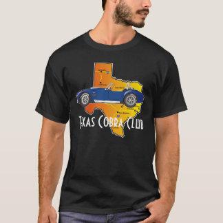 T-shirt Vue de côté, club de cobra du Texas avec l'état