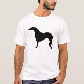 T-shirt Vue de côté de barzoï