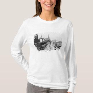 T-shirt Vue de Dresde du Bruehlsche Terrasse