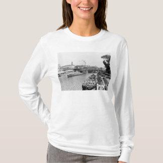 T-shirt Vue de la fête de rivière, Berlin, c.1910