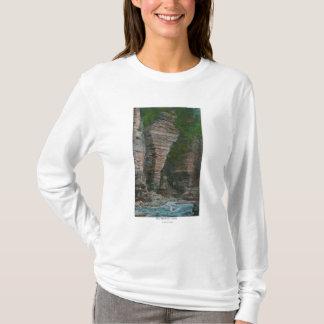 T-shirt Vue de la tête de l'éléphant