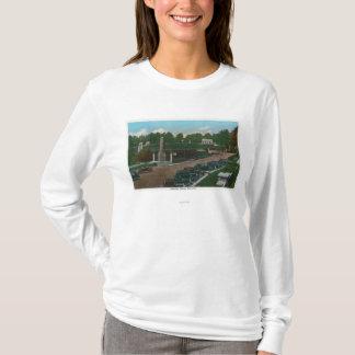 T-shirt Vue de l'entrée d'abîme d'Ausable
