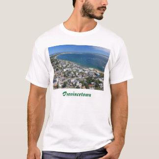 T-shirt Vue de monument, Provincetown Cape Cod