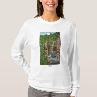 T-shirt Vue de roche de Tableau